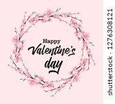 vector illustration of flowers... | Shutterstock .eps vector #1276308121