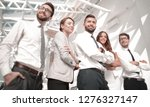 professional business team on...   Shutterstock . vector #1276327147