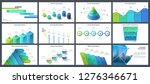 bundle of infographic design... | Shutterstock .eps vector #1276346671