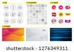seamless pattern. shopping sale ... | Shutterstock .eps vector #1276349311