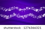 snowflake banner with ultra... | Shutterstock .eps vector #1276366321