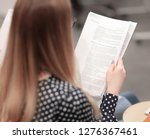 close up.business partners are... | Shutterstock . vector #1276367461