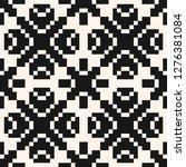 vector geometric traditional... | Shutterstock .eps vector #1276381084