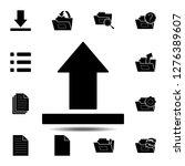 upload  arrow icon. simple...