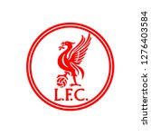 liverpool logo imple | Shutterstock .eps vector #1276403584