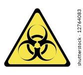 biohazard sign | Shutterstock .eps vector #12764083