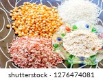 various carbohydrate source  | Shutterstock . vector #1276474081
