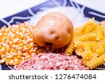 various carbohydrate source  | Shutterstock . vector #1276474084