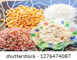 various carbohydrate source  | Shutterstock . vector #1276474087