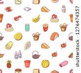 various images set. background... | Shutterstock .eps vector #1276474357