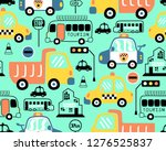 seamless pattern vector of... | Shutterstock .eps vector #1276525837