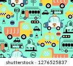 seamless pattern vector of... | Shutterstock .eps vector #1276525837