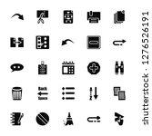 vector illustration of 25 icons....   Shutterstock .eps vector #1276526191