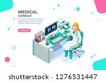health collection. clinic... | Shutterstock .eps vector #1276531447