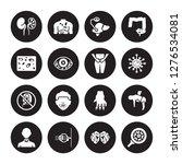 16 vector icon set   iron... | Shutterstock .eps vector #1276534081