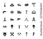 vector illustration of 25 icons.... | Shutterstock .eps vector #1276536424