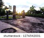 the park and the twilight...   Shutterstock . vector #1276542031
