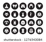20 vector icon set   vintage... | Shutterstock .eps vector #1276543084