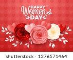 happy international women's day ... | Shutterstock .eps vector #1276571464