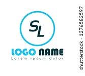 letter sl logo concept....