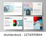 business templates for...   Shutterstock .eps vector #1276593844
