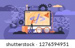 programming vector illustration.... | Shutterstock .eps vector #1276594951