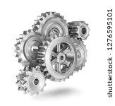 gears concept icon  3d...