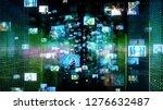 social networking concept. | Shutterstock . vector #1276632487