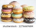 Doughnuts Donuts Various Types...