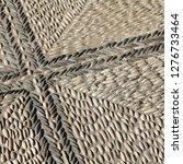 cobblestone background texture. ...   Shutterstock . vector #1276733464