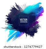 abstract vector design... | Shutterstock .eps vector #1276779427