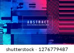 abstract vector background.... | Shutterstock .eps vector #1276779487