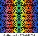ornamental seamless pattern....   Shutterstock .eps vector #1276784284