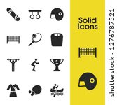 activity icons set with award ... | Shutterstock .eps vector #1276787521
