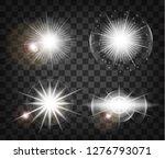 white glowing light burst...   Shutterstock .eps vector #1276793071