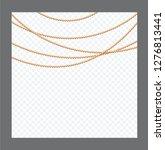 golden or bronze color round...   Shutterstock .eps vector #1276813441