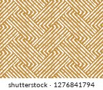 abstract geometric pattern with ... | Shutterstock .eps vector #1276841794