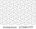 abstract geometric pattern. a... | Shutterstock .eps vector #1276841797