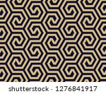 abstract geometric pattern with ... | Shutterstock .eps vector #1276841917