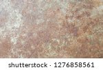 the surface of the rusted steel ... | Shutterstock . vector #1276858561