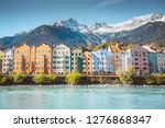 panoramic view of the historic... | Shutterstock . vector #1276868347