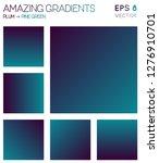 colorful gradients in plum ... | Shutterstock .eps vector #1276910701