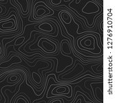 contour lines. actual... | Shutterstock .eps vector #1276910704