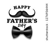 happy father s day vector.... | Shutterstock .eps vector #1276936444