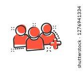 people communication user... | Shutterstock .eps vector #1276941334