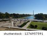 national mall  washington  d.c. ... | Shutterstock . vector #1276957591