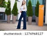 portrait of a full length young ... | Shutterstock . vector #1276968127