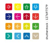 set  2 of rounded square icons...