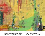 abstract background painting   Shutterstock . vector #127699937