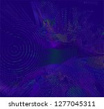 abstract vector background dot... | Shutterstock .eps vector #1277045311